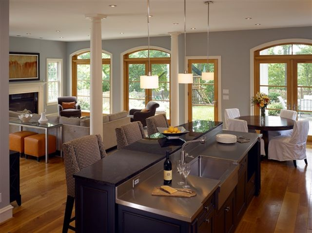 Klingle St Eclectic Family Room Dc Metro By Larry