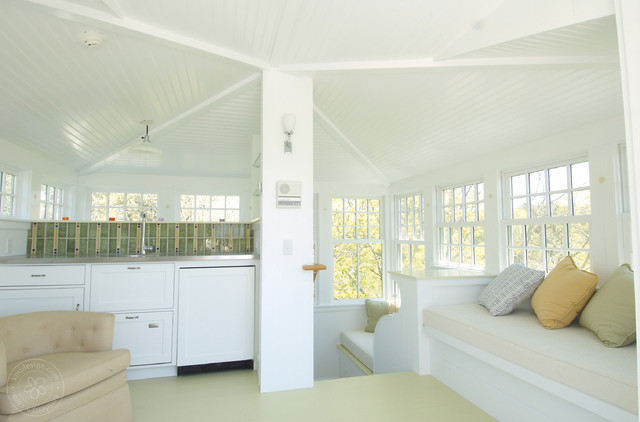 Kmidesign cape cod beach home family room boston by for Cape cod interior designers