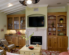 Knot On Call eclectic-family-room