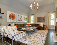 East Hampton modern family room