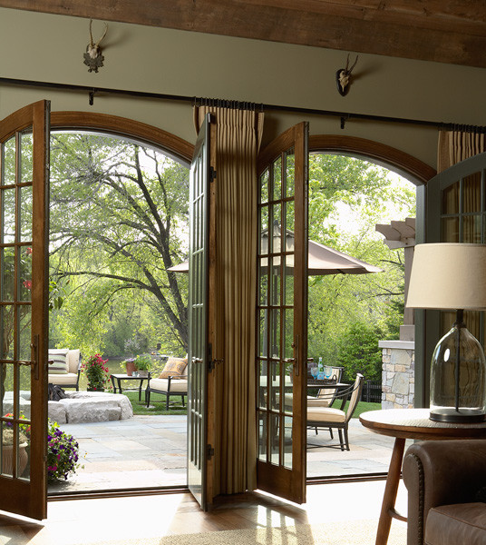 L. Cramer Builders + Remodelers eclectic-family-room