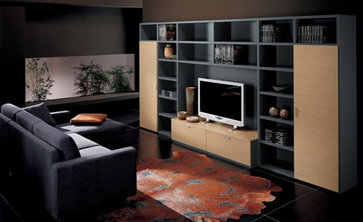 La Dimora Design contemporary family room