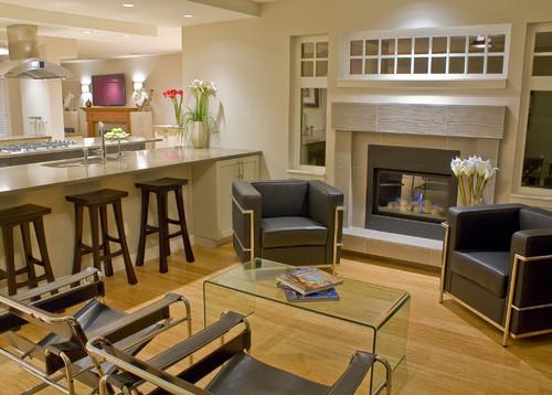 ladner contemporary contemporary family room