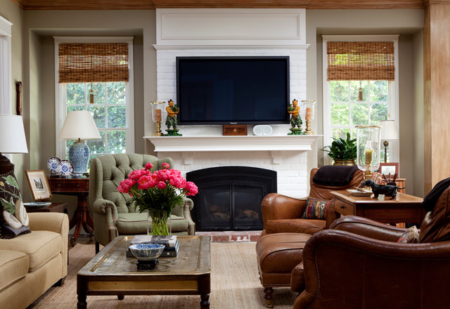 Lafayette Residence traditional-family-room