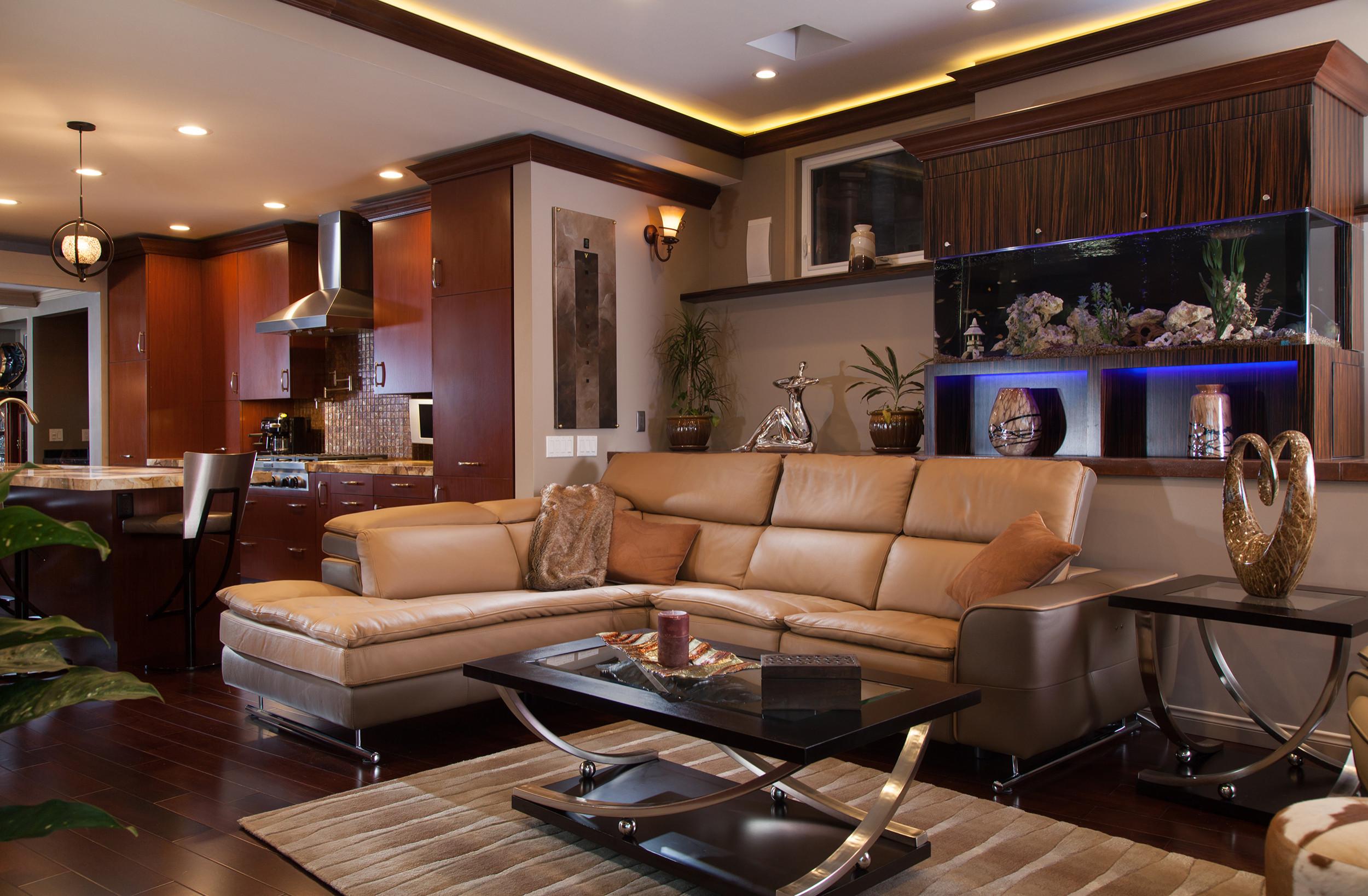 Laguna Beach Room Addition and Kitchen relocation