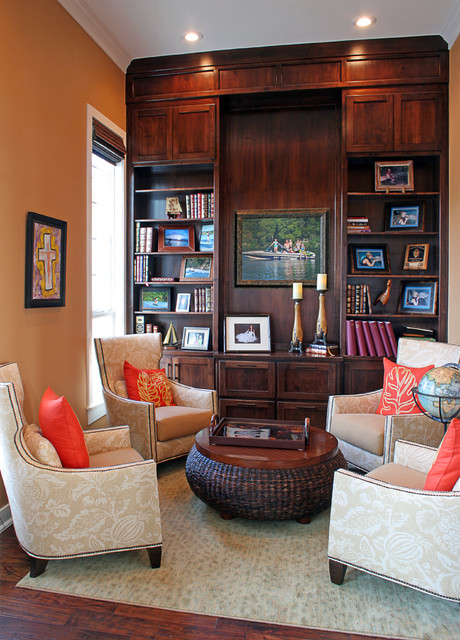 Lake Belton House Traditional Family Room Austin