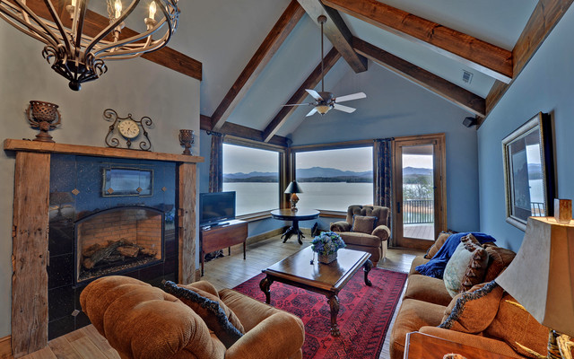 Lake Chatuge Custom Homes traditional-family-room