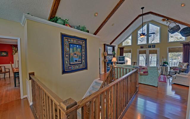 Lake Hartwell Custom Homes traditional-family-room