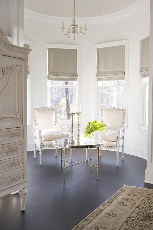 10 Winter White Interior Design Ideas   family room