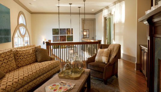 Lake Martin Residence transitional-family-room