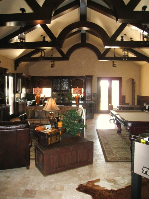 Lake Pointe Estates Residence traditional-family-room