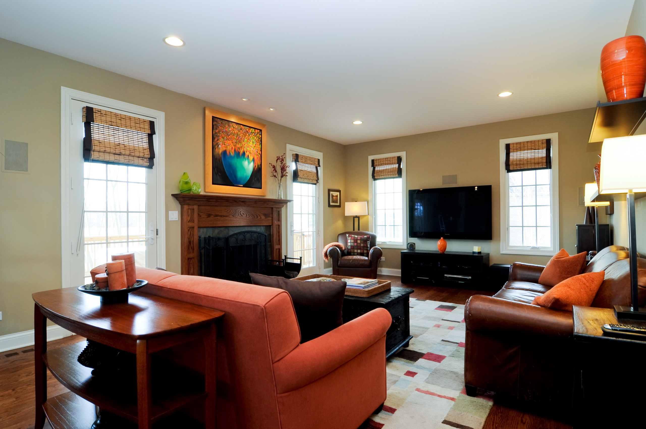 Lake Zurich Family Room