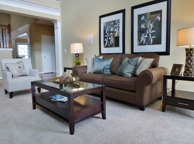 Landsdowne Vacant Home-2013 Furniture Package traditional-family-room