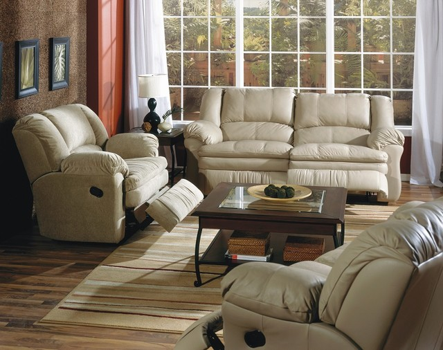 Leather Recliner Sofas Reclining Fusion Family Room