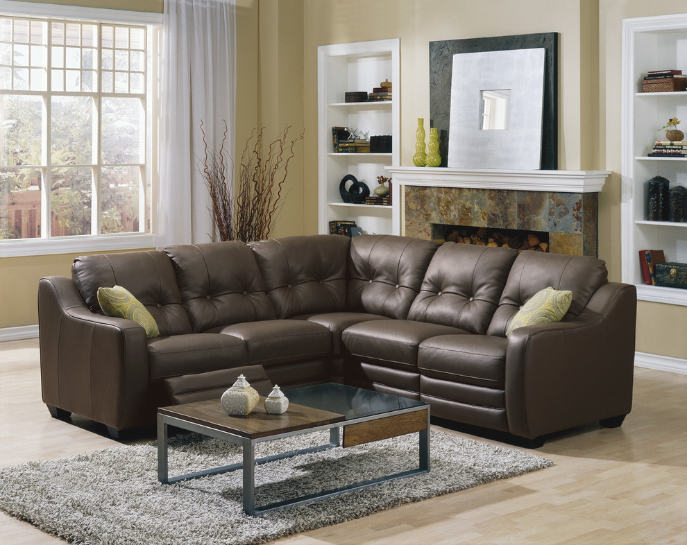 Leather Sectionals for your Living Room or Family Room ...