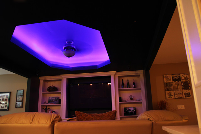 Led Lights Room : LED Color Changing Ceiling Cove Lighting - Contemporary - Family Room ...