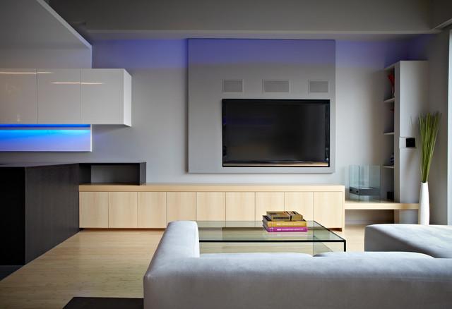 Lenny's Place contemporary-family-room