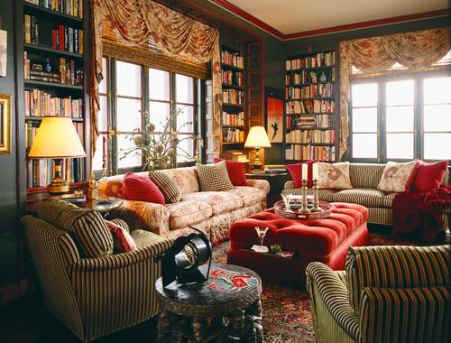 Eclectic Family Room by Chicago Interior Designers & Decorators Branca, Inc.