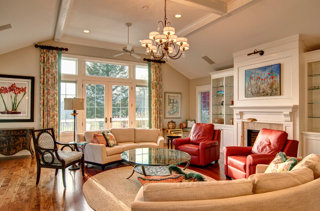 Lilly Farm - Renovation eclectic-family-room