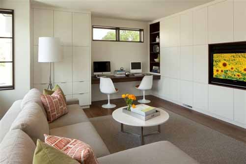 Linden Hills Contemporary contemporary-family-room