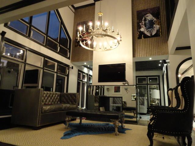 Liv Chic Interior Design Eclectic Family Room