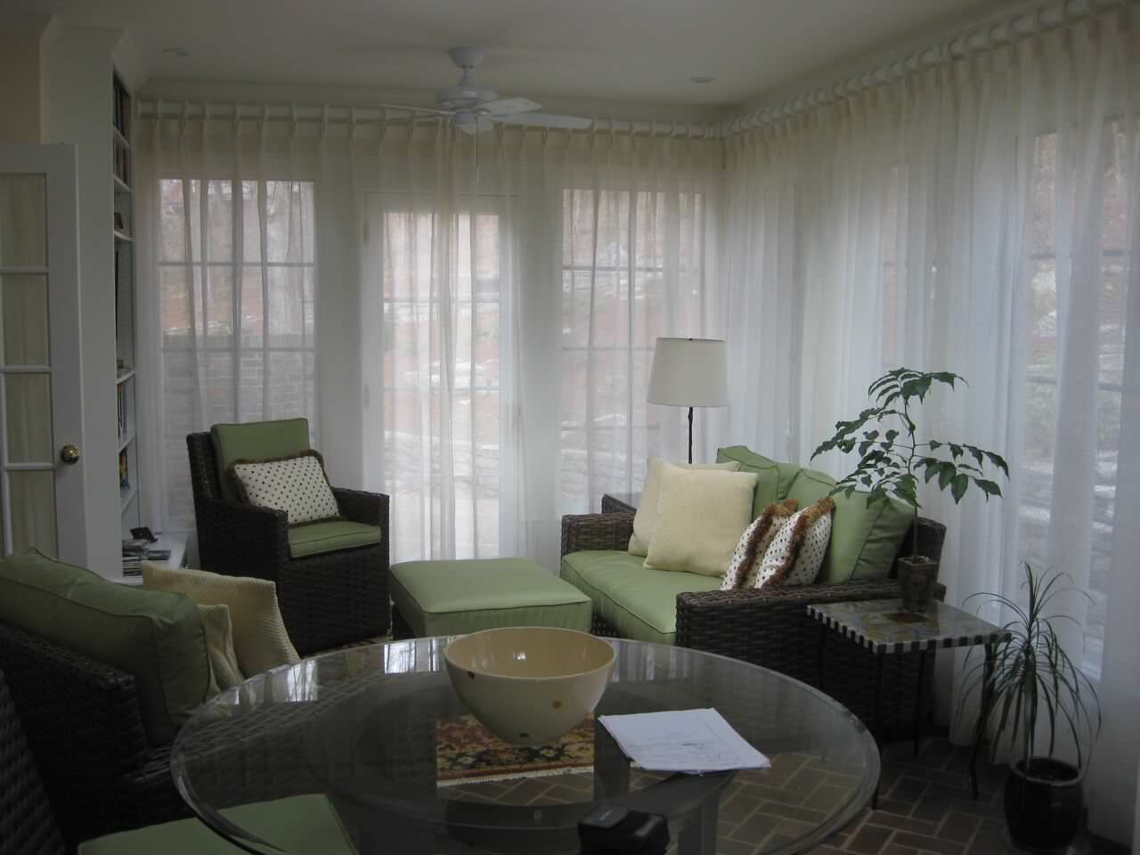 Living and Dining Room Window Treatments