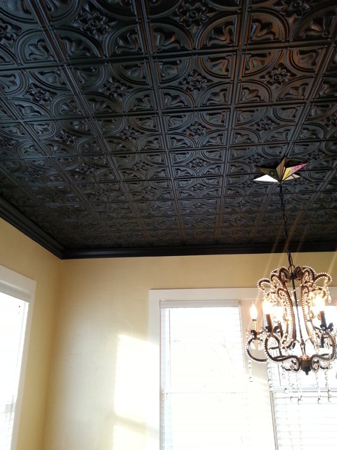 Living room traditional family room by decorative - Living room ceiling tiles ...