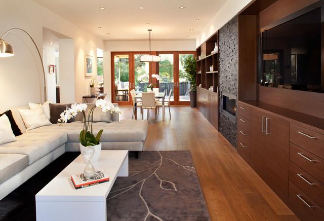 San Mateo contemporary-living-room