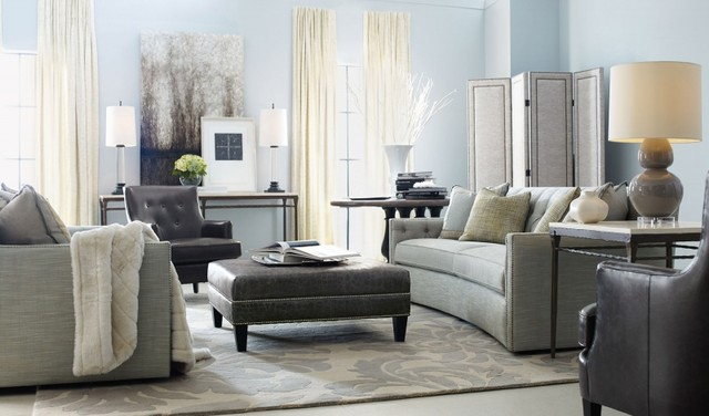 Living Room Transitional Family, Louisiana Furniture Gallery