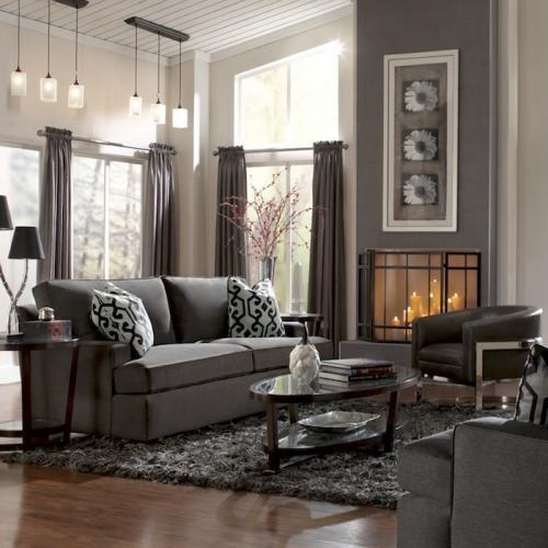Living Room transitional-family-room