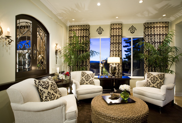 Living Room - Traditional - Family Room - San Diego - by ...