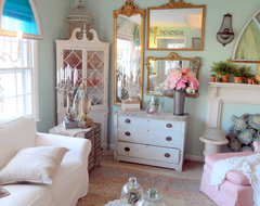 Living Room Spring Refresh eclectic-family-room