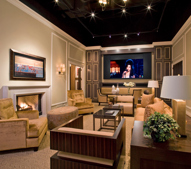 Starr Systems Design Center Traditional Family Room