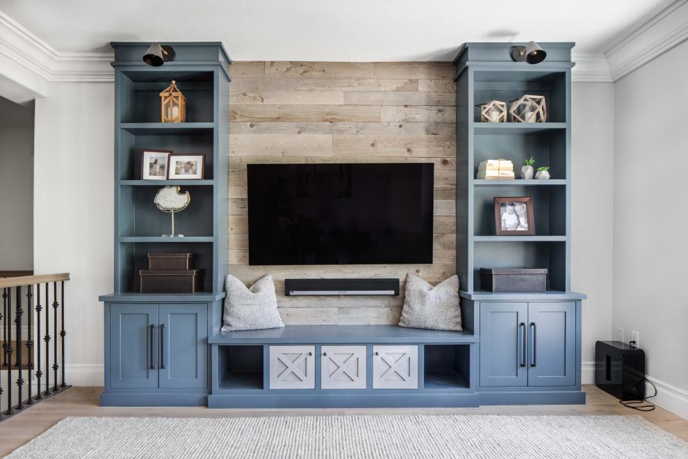 Family room - family room idea in Orange County
