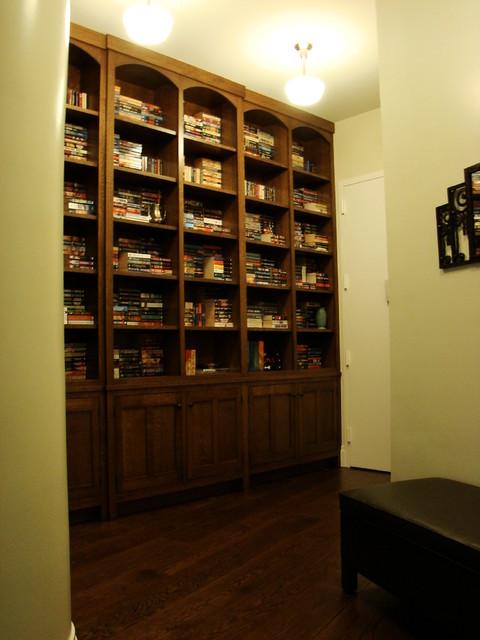Long Island City Loft craftsman-family-room
