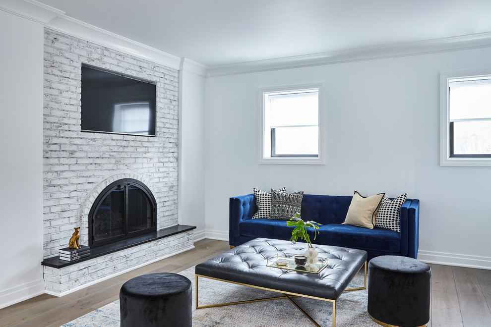 Long Island Residence Contemporary Family Room New York By Jse Interior Design