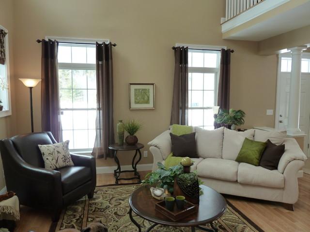 LongMeadow open floor plan farmhouse-family-room