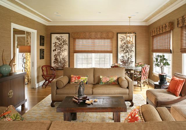 Lori Levine Interiors, Inc. transitional-family-room