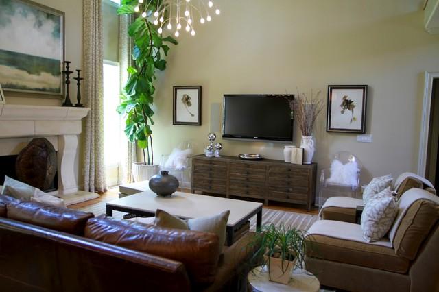 Lori May - Lori May Interiors traditional-family-room