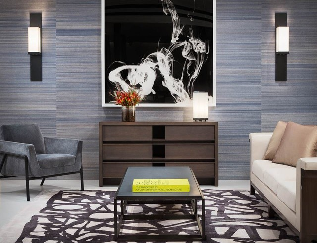 Los angeles showroom by holly hunt modern family room for Family room los angeles