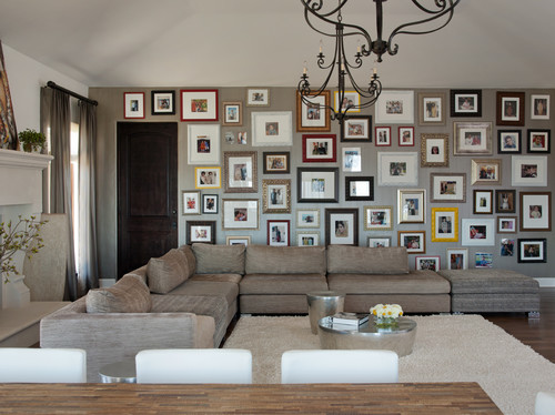Contemporary Family Room by San Francisco Interior Designers & Decorators Lizette Marie Interior Design