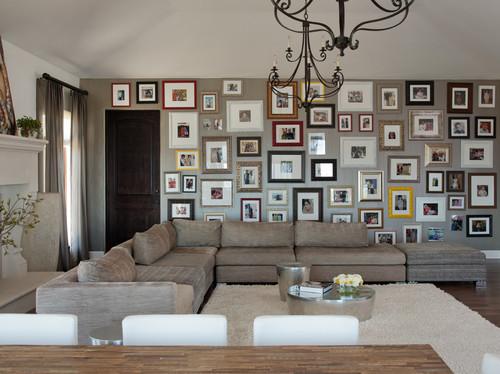 Contemporary Family Room by San Francisco Interior Designers & Decorators Lizette Marie Interior Design