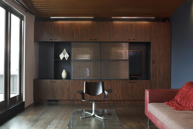 Lounge - Bastasch Residence modern-family-room
