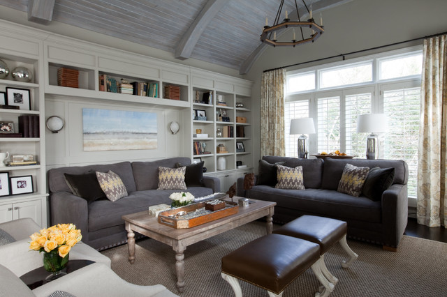 Lutherville Residence Eclectic Family Room Baltimore