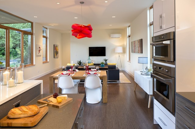 Luxe Model contemporary-family-room
