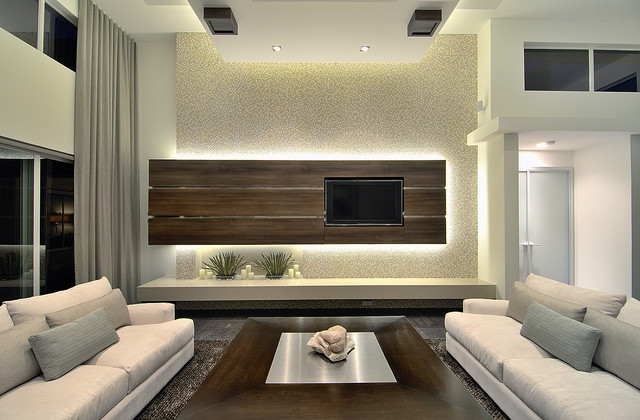 Luxury Real Estate Living Room - Modern - Family Room - Miami - by ...