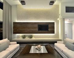 Luxury Real Estate Living Room modern-family-room