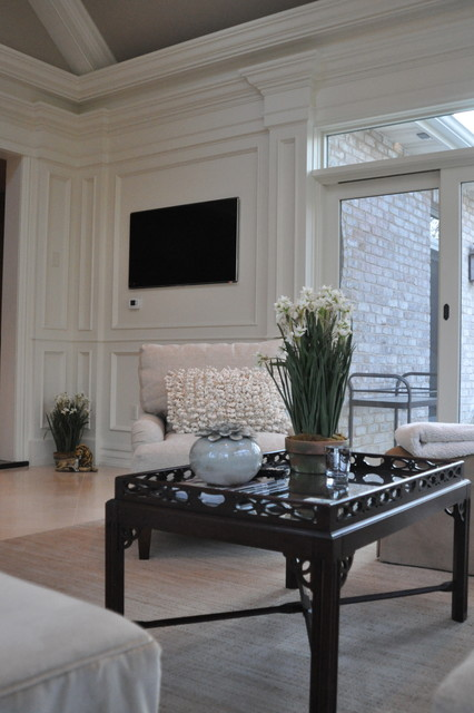 Luxury Sunroom traditional-family-room