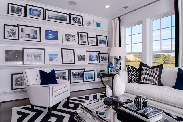 M/I Homes of DC: Maryland :: Crown - Monet Model contemporary-family-room