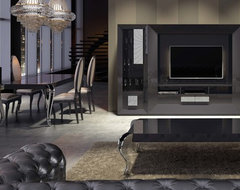 Macral Design. ENTERTAINMENT CENTER SK01 contemporary-family-room